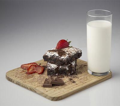 brownies-and-milk